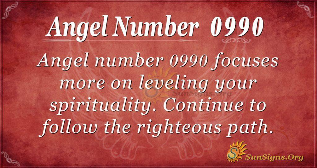 angel number 0990