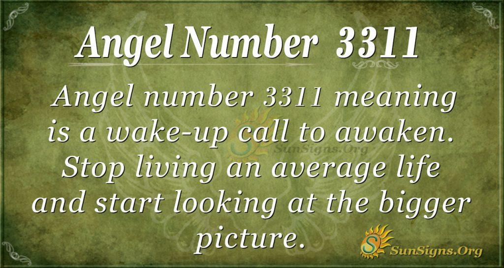 angel number 3311