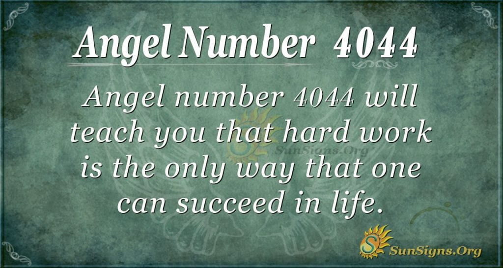 angel number 4044