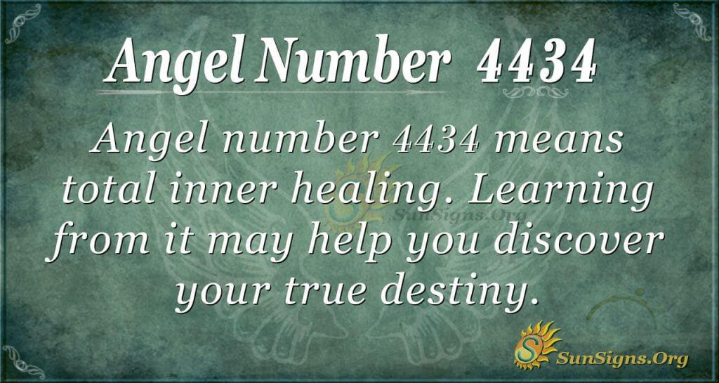 Angel Number 4434