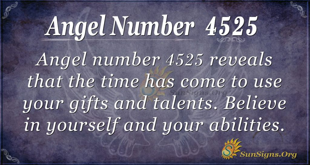angel number 4525