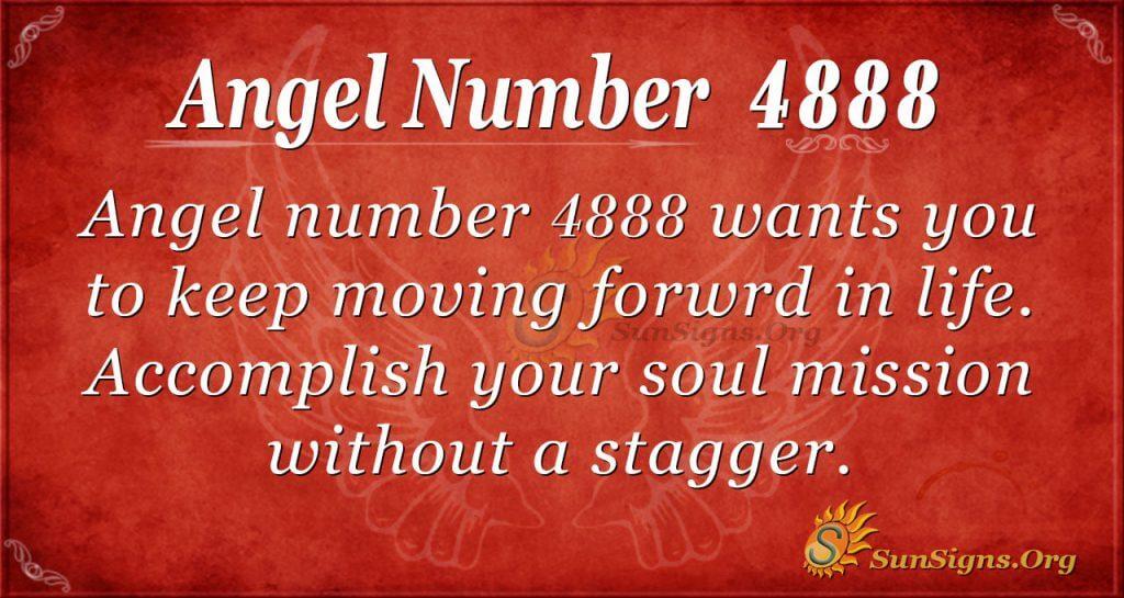 angel number 4888