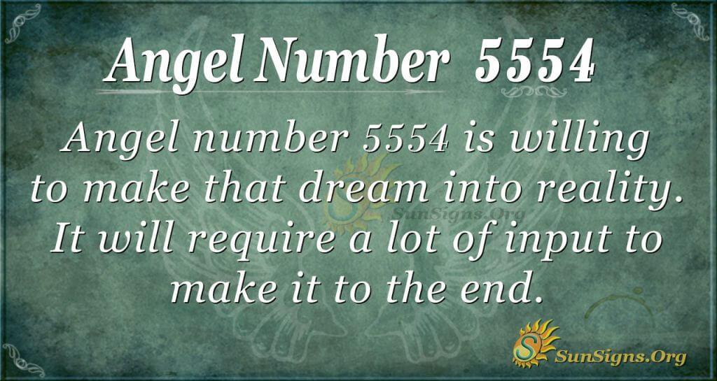 angel number 5554