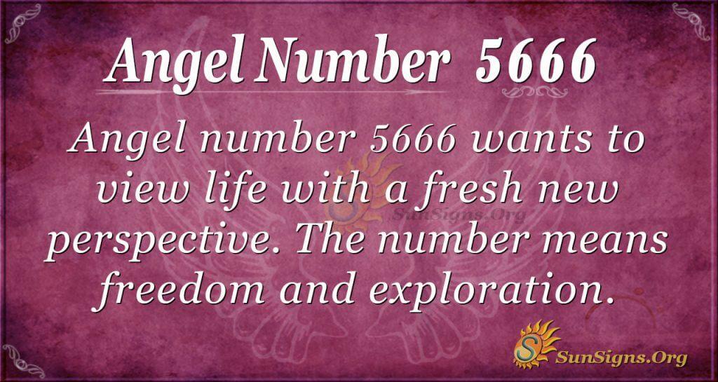 angel number 5666