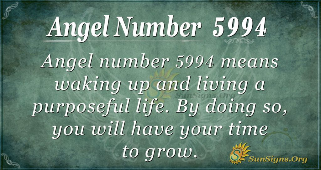 Angel Number 5994