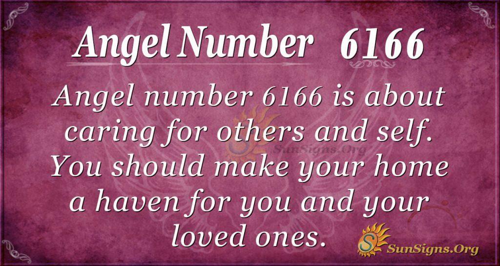 angel number 6166