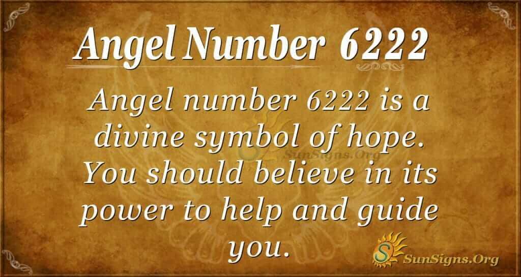 angel number 6222