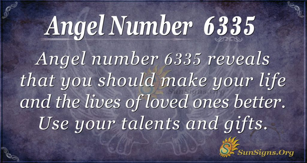 angel number 6335