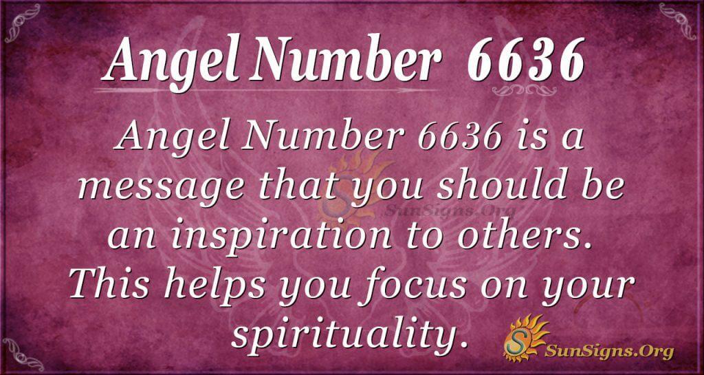 angel number 6636