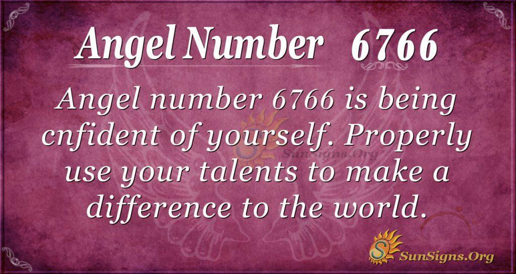 angel number 6766