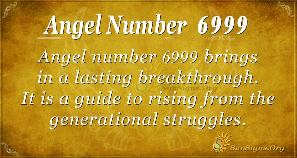 angel number 6999