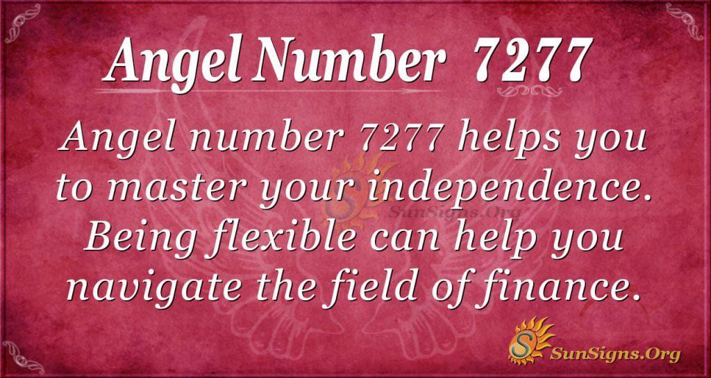 Angel Number 7277