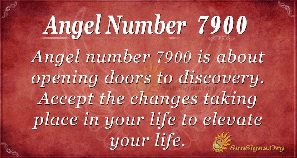 Angel Number 7900