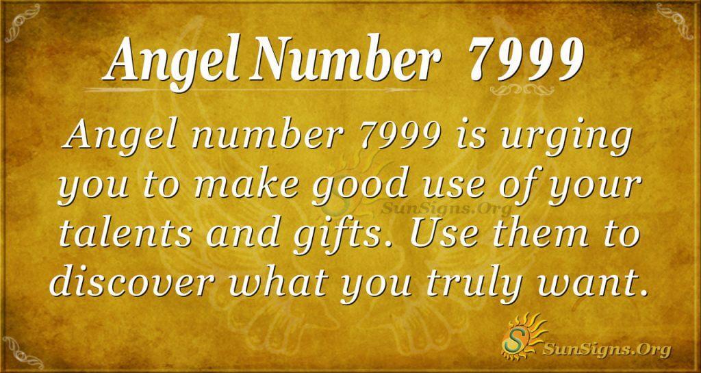 Angel Number 7999