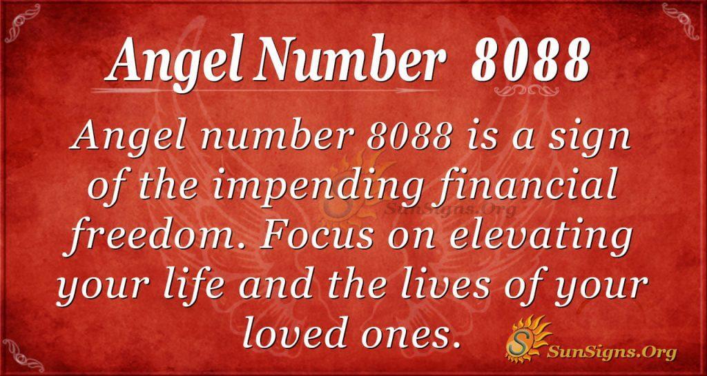 angel number 8088