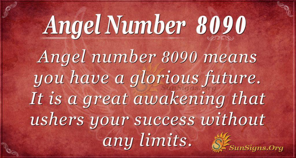 angel number 8090