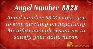 angel number 8828