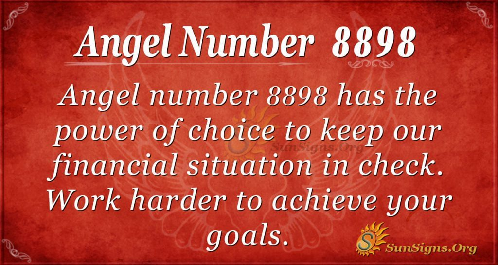 Angel Number 8898