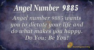 angel number 9885