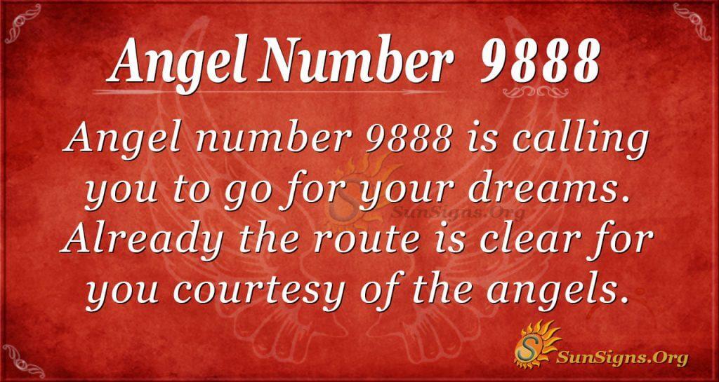 angel number 9888