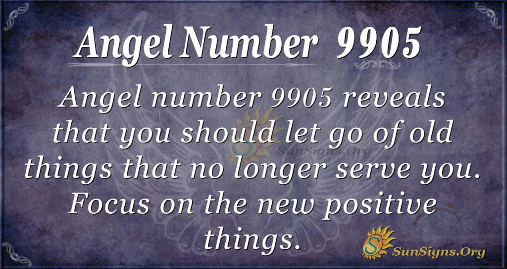 angel number 9905