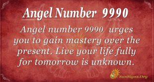angel number 9990