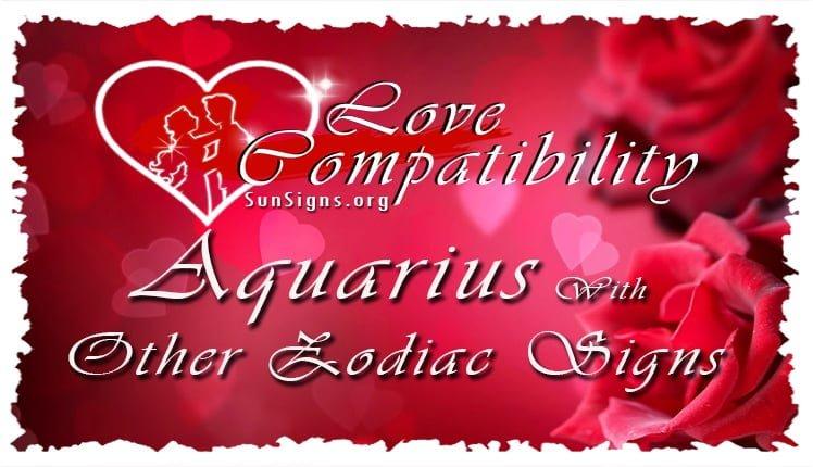 Aquarius Compatibility | SunSigns Org