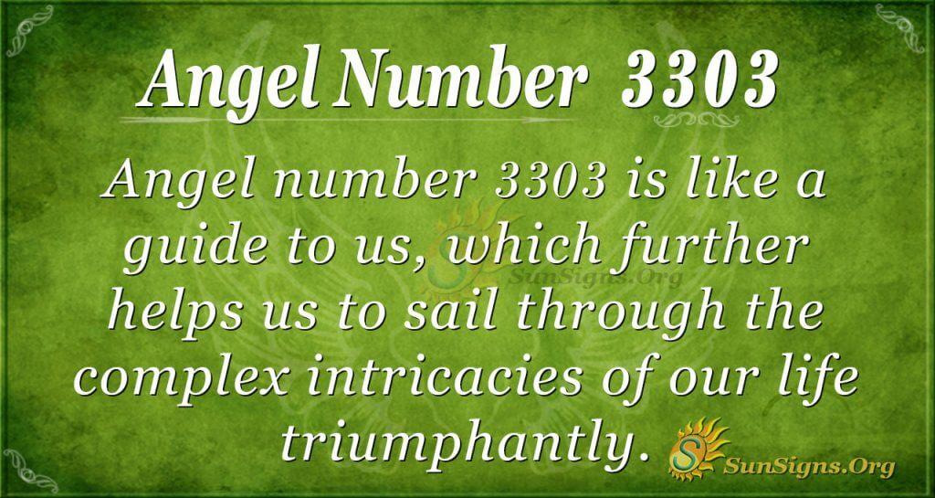 angel number 3303