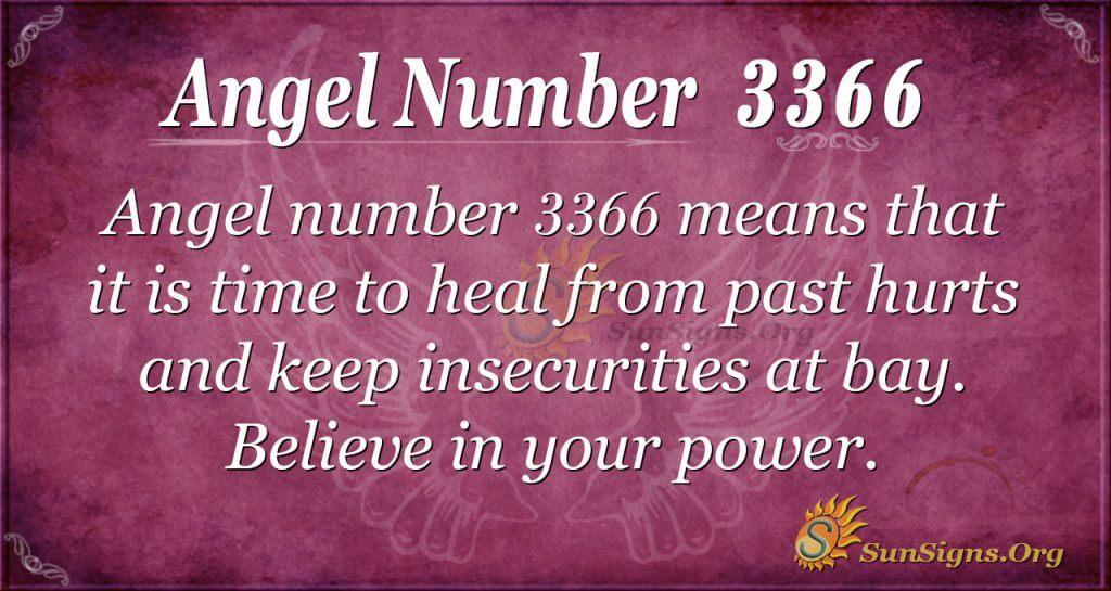 Angel Number 3366