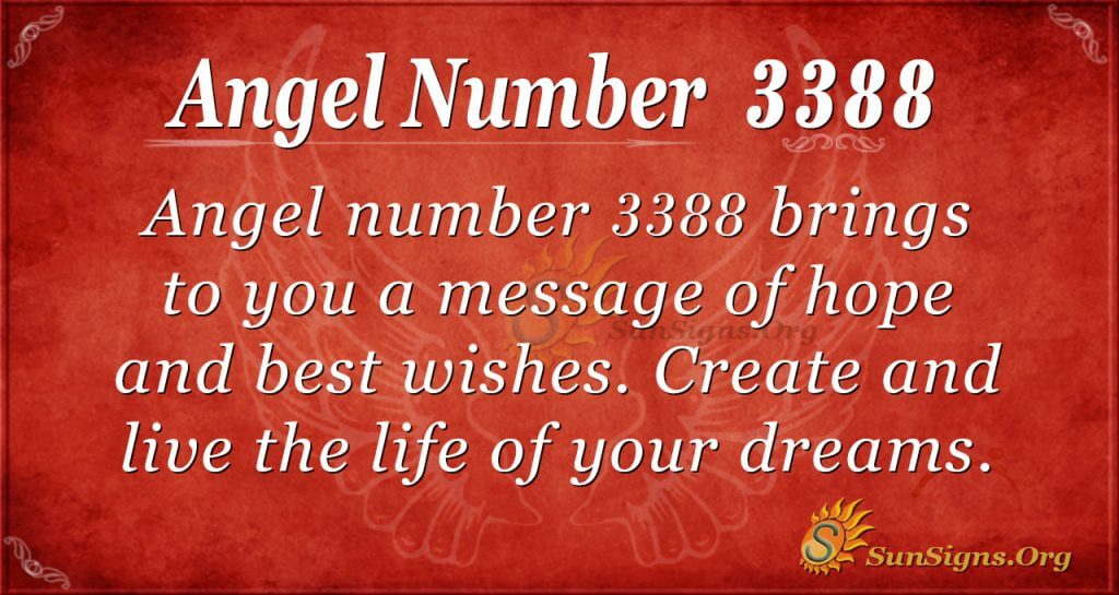 Angel number 3388