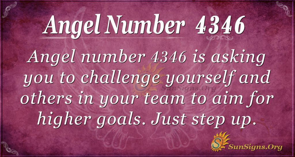 Angel number 4346