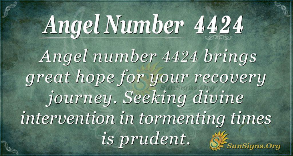 Angel number 4424