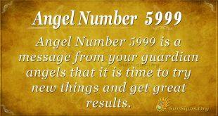 Angel Number 5999