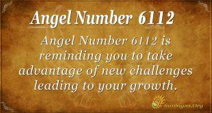 Angel number 6112