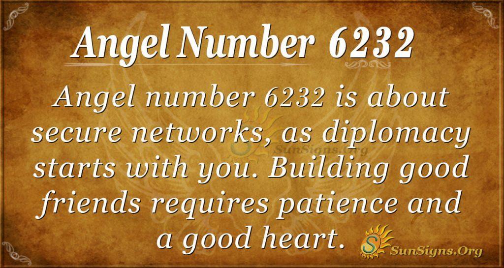 Angel number 6232