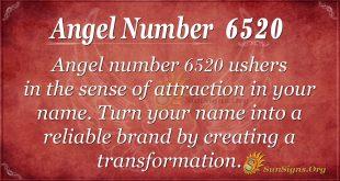 Angel Number 6520