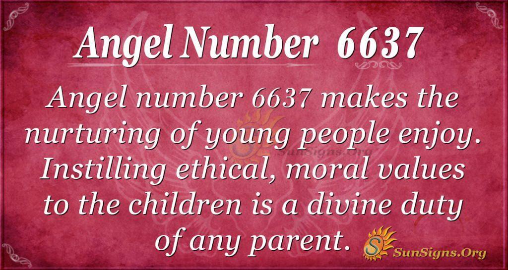 Angel Number 6637