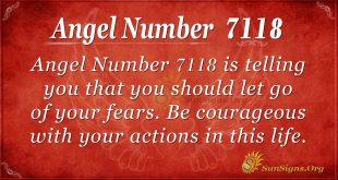 angel number 7118
