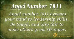 Angel number 7811