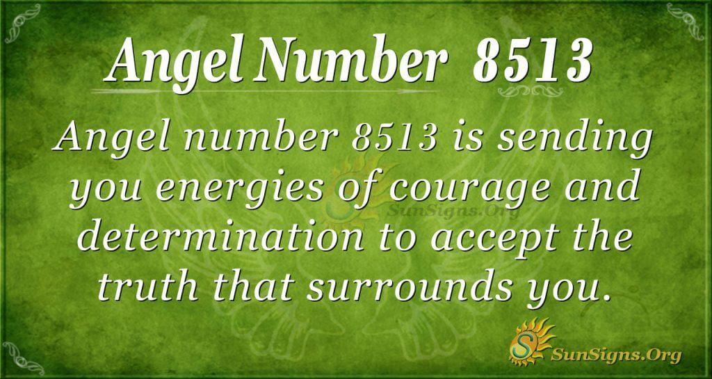 angel number 8513
