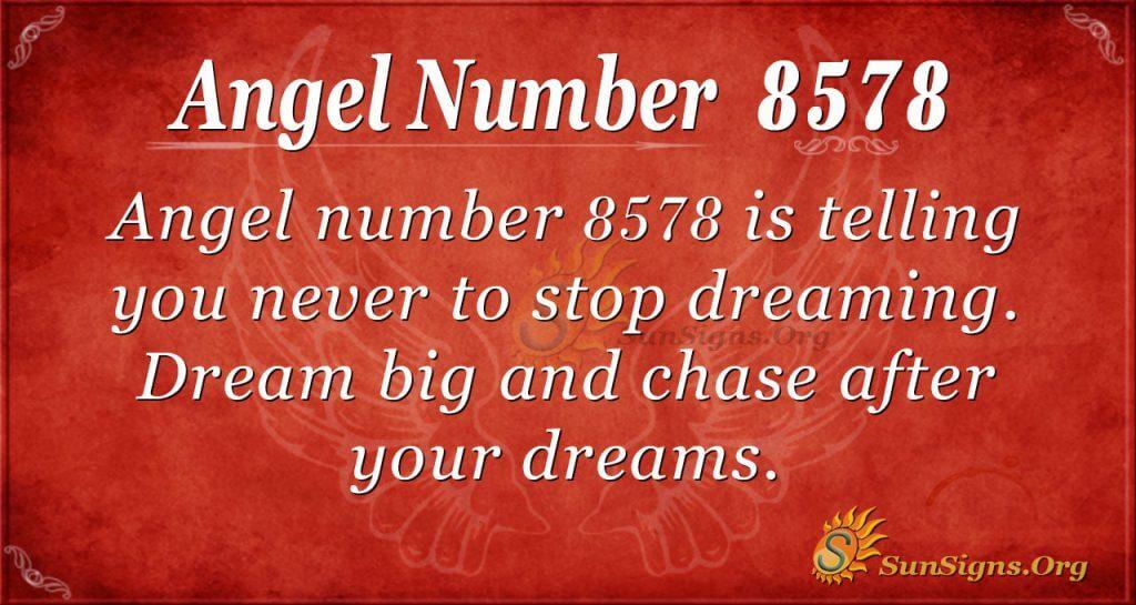 angel number 8578