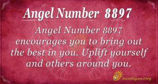 Angel number 8897