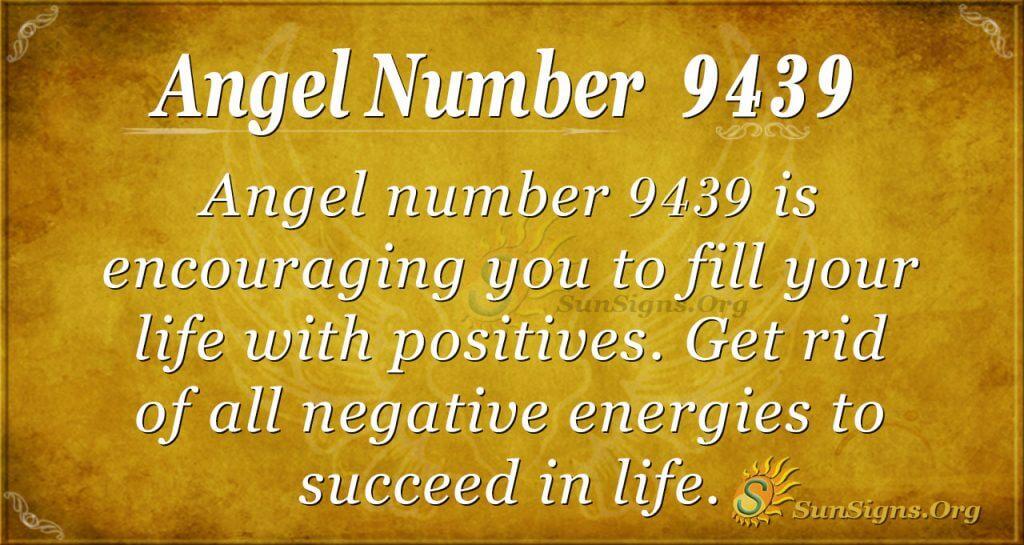 Angel number 9439