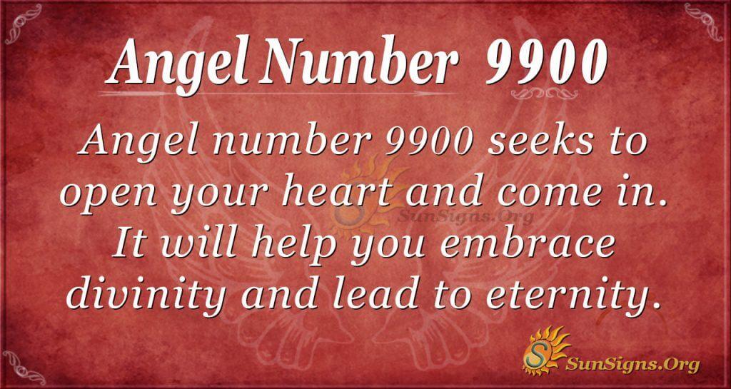 Angel Number 9900