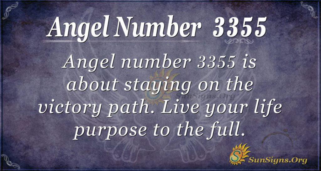 Angel Number 3355