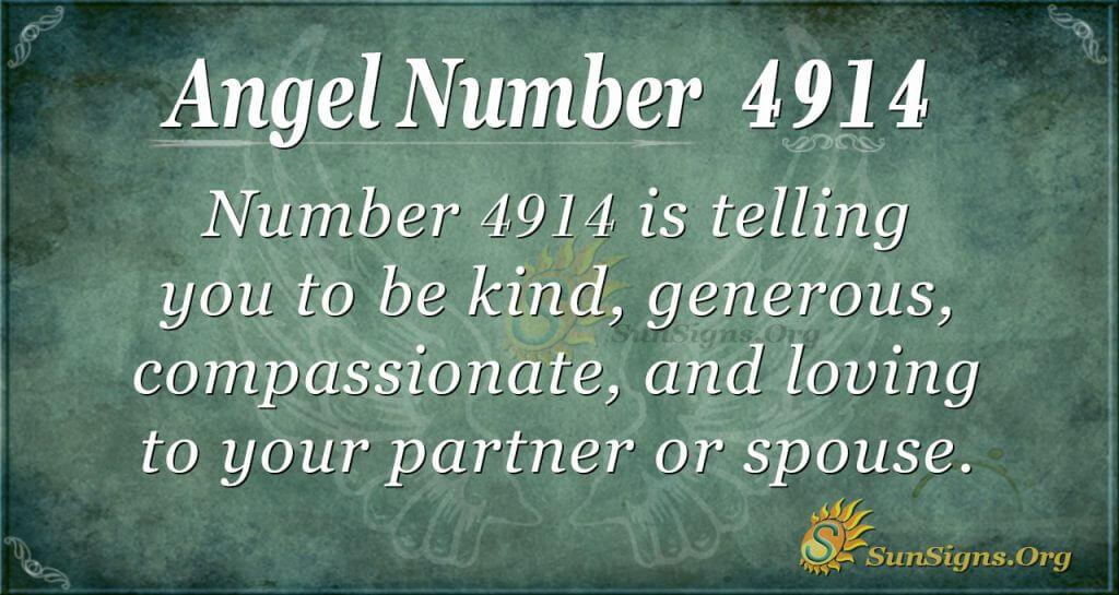 angel number 4914