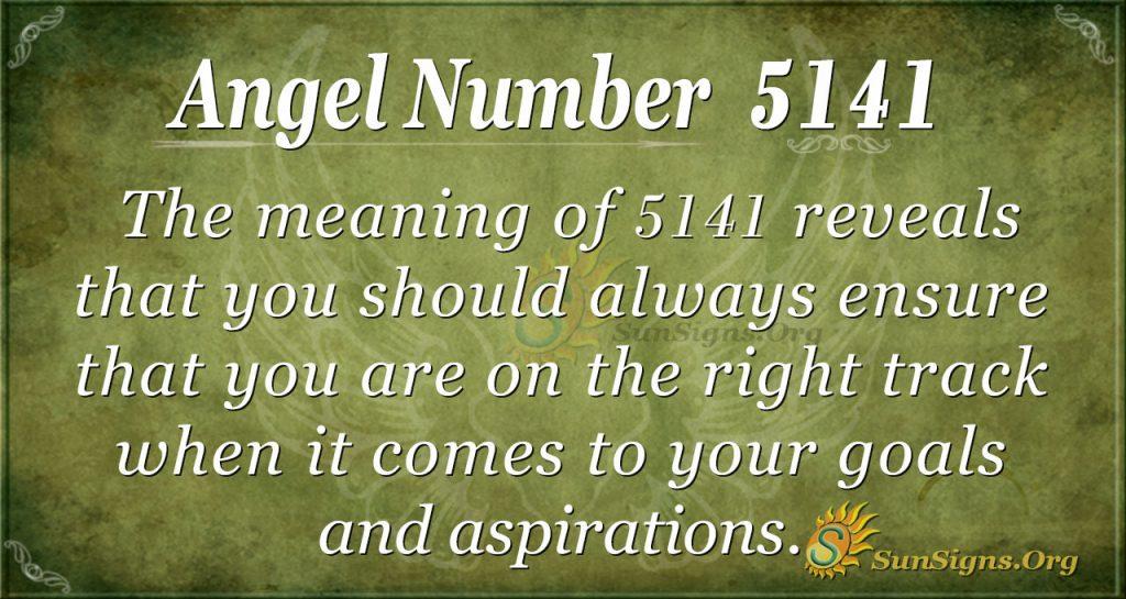 angel number 5141