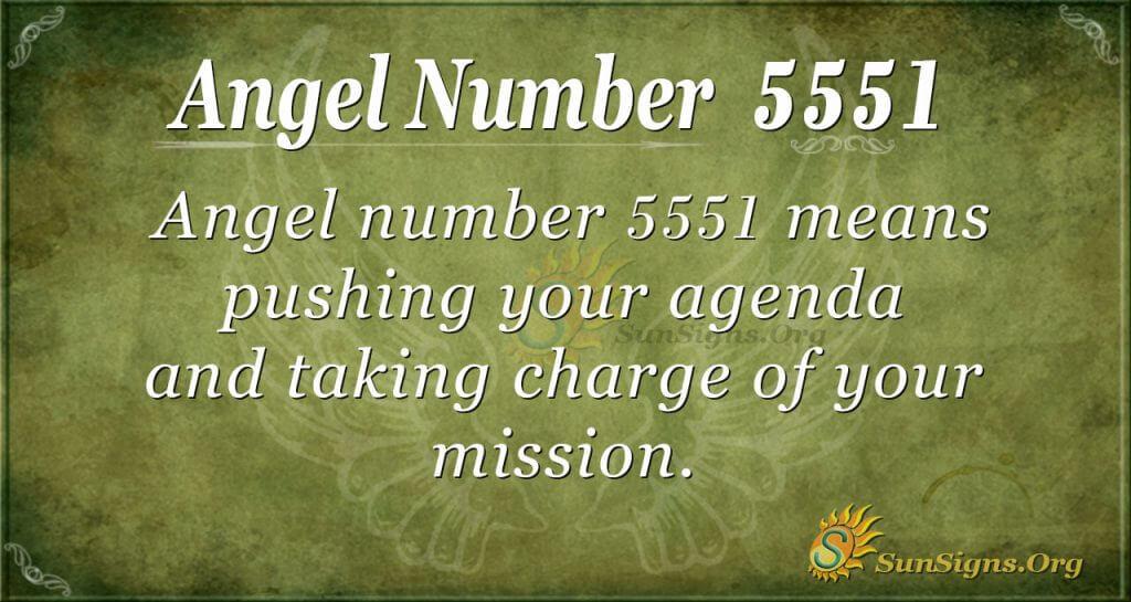 angel number 5551