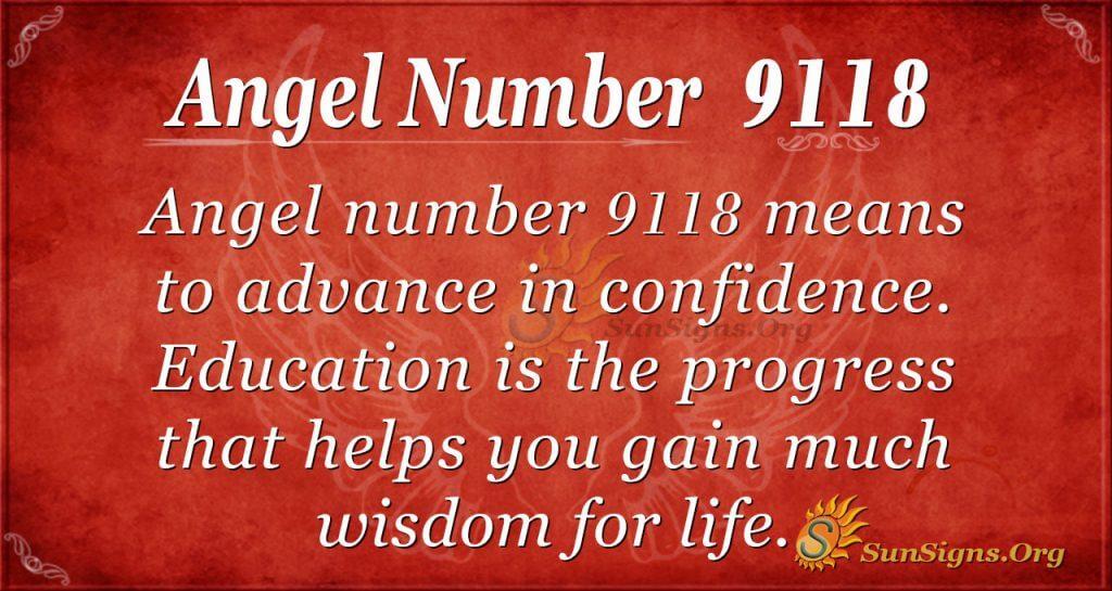 Angel Number 9118