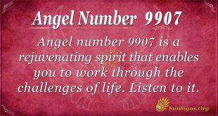 Angel number 9907